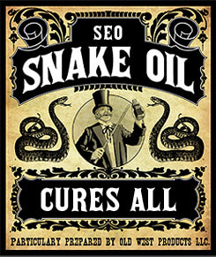 Is SEO digital snake oil?